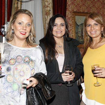 Paola Cárdenas, Susan Chicuy y Claudia Conejeros