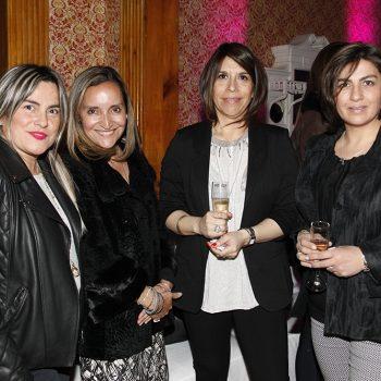 Patricia Cárcamo, Valeska Acevedo, Mónica Montaña y Carola Anticevic