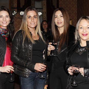 Katherine Harris, Claudia Zunino, Paola Fernández y Solange Marchant