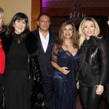 Sandra Vukasovic, Karin Heller, Francisco de la Maza, Paula Vallejo y Carol Araya.
