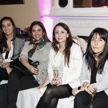 Loreto Llanos, Laura Valenzuela, Solange Davis y Mónica Espíndola